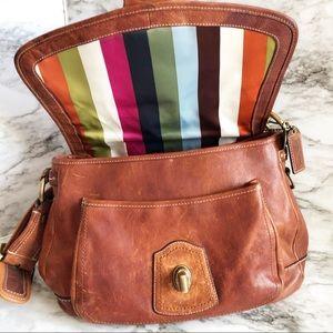 Coach 65th anniversary vachetta bag